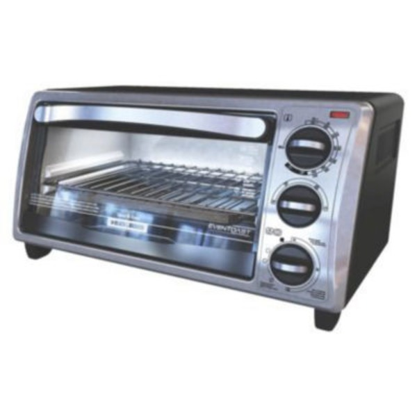 Black & Decker 4-Slice Toaster Oven, TO1313SBD