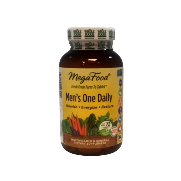 MegaFood Men's One Daily Multivitamin Tablets