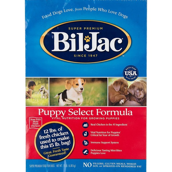 Bil-Jac Puppy Select Dry Puppy Food