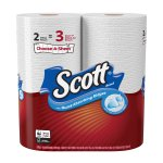 Scott Paper Towels, Choose-a-Sheet, 2 Mega Rolls
