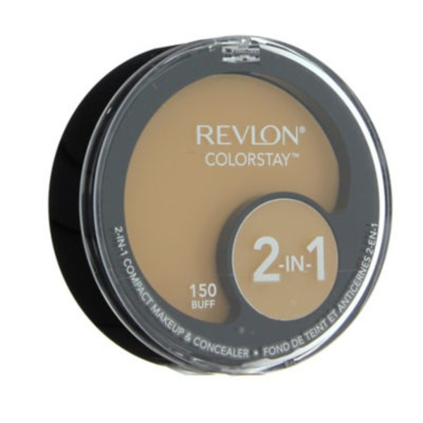 Revlon Color Stay 2 In 1 Compact Makeup & Concealer 150 Buff