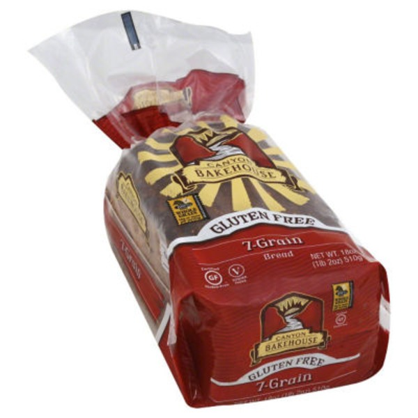 Canyon Bakehouse Gluten-Free 7 Grain Bread