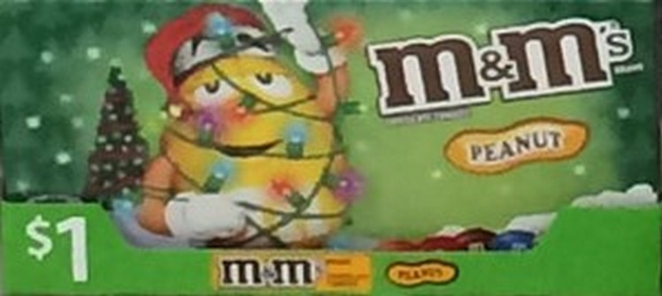M & M's Peanut Butter Chocolate Theatre Box