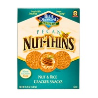 Blue Diamond Pecan Nut-Thins Nut & Rice Cracker Snacks