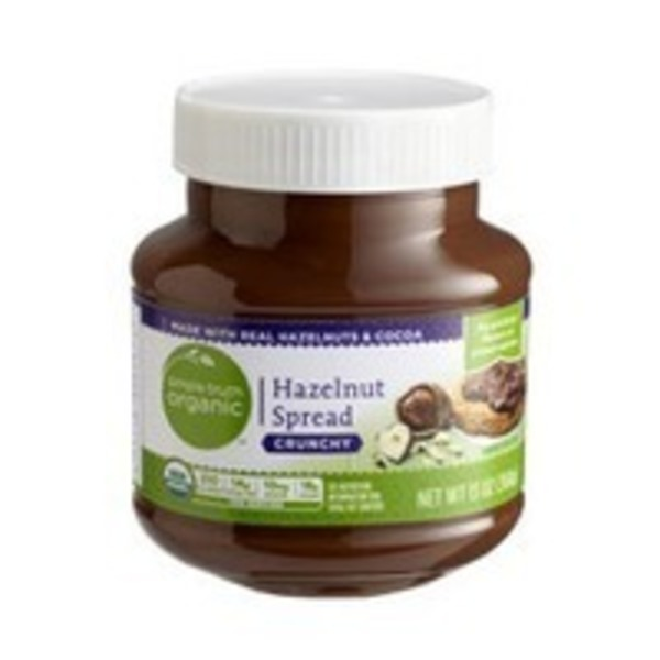 Simple Truth Crunchy Hazelnut Spread
