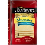 Sargento Deli Style Thin Sliced Muenster Cheese, 11 ct