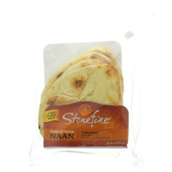 Functional Gourmet Stonefired Naan Bread