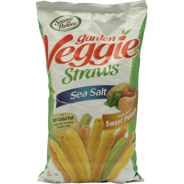 Sensible Portions Garden Veggie Straws, Sea Salt