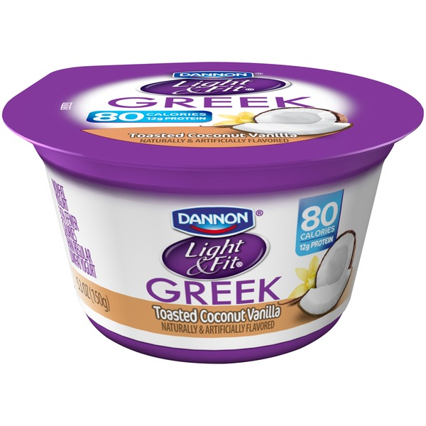 Light & Fit Greek Greek Toasted Coconut Vanilla Nonfat Yogurt