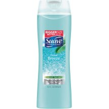 Suave Essentials Body Wash, Ocean Breeze 15 Oz