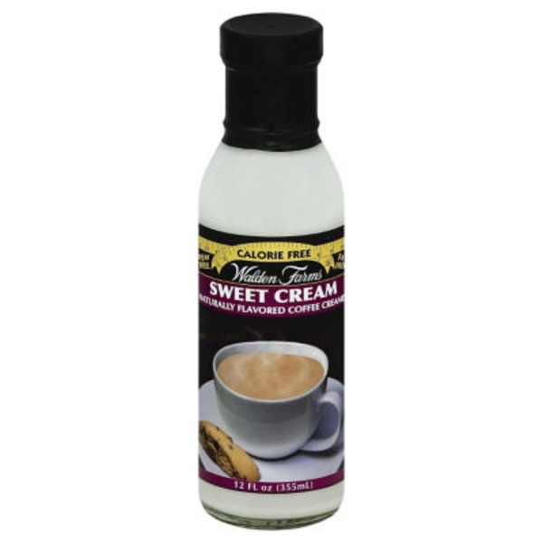 Walden Farms Coffee Creamer Sweet Cream