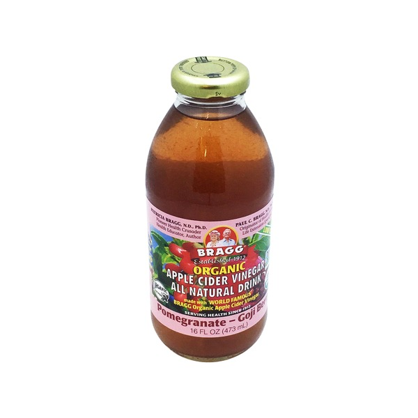 Bragg Organic Apple Cider Vinegar Drink, Pomegranate & Goji Berry