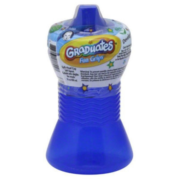 Gerber Cups, Fun Grips, Spill-Proof, 12M+