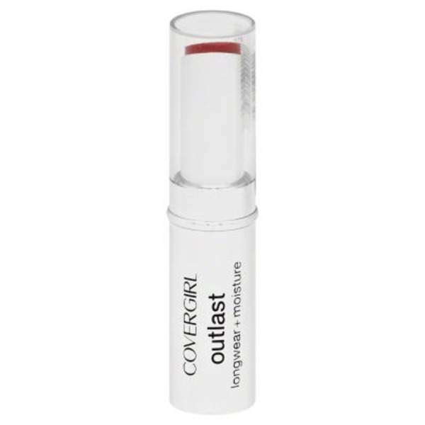 CoverGirl Outlast COVERGIRL Outlast Longwear Lipstick Red Rouge .12 oz (3.4 g) Female Cosmetics