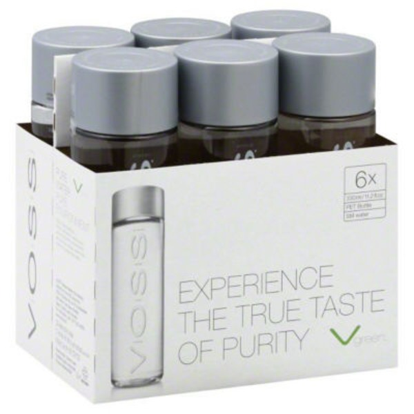 Voss Artesian Water Pet Bottles - 6 PK