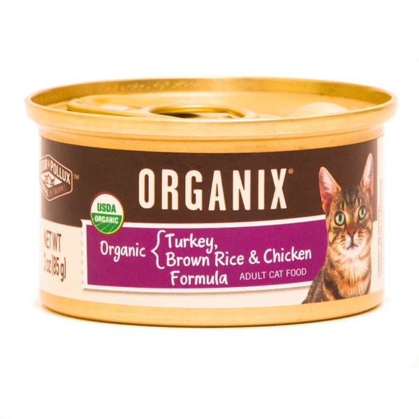 Organix Organic Turkey, Brown Rice and Chicken Cat Food