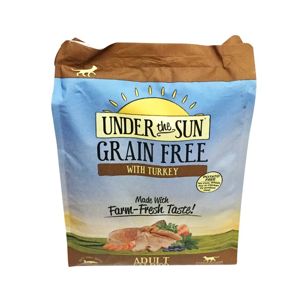 Under The Sun Grain Free with Turkey Made with Farm-Fresh Taste! Adult Cat Food