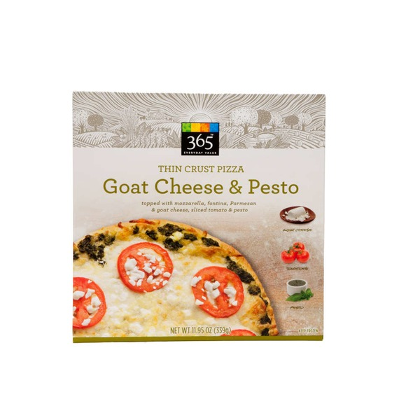 Whole Foods Market Goat Cheese & Pesto Thin Crust Pizza