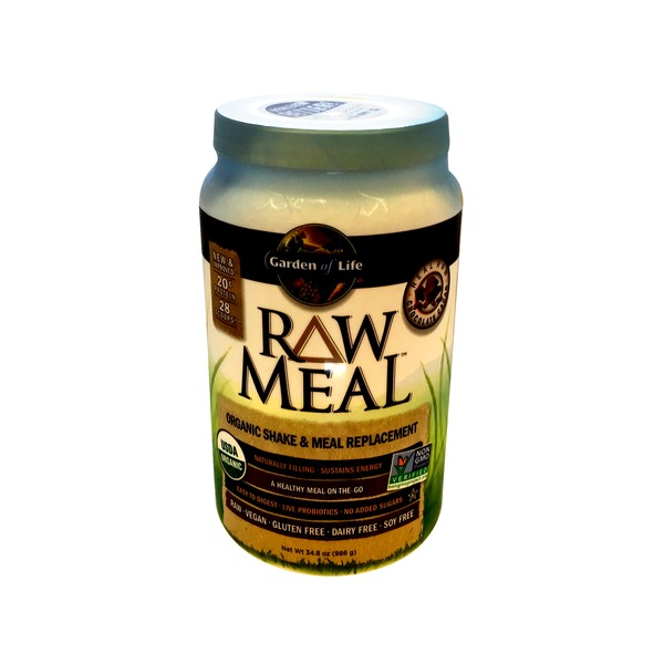 Garden of Life RAW Meal Chocolate Cacao Organic Meal Replacement Formula