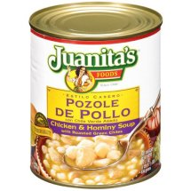 Juanita's Chicken & Hominy Soup, 29.5 oz