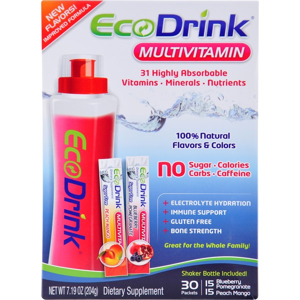 Eco Drink MultiVitamin Powdered Drink Sachets