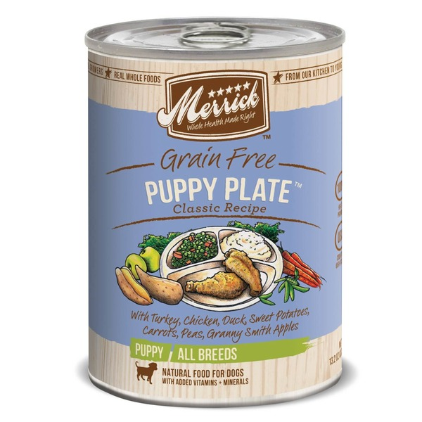 Merrick Merrick Grain Free Puppy Plate Classic Recipe Puppy Food