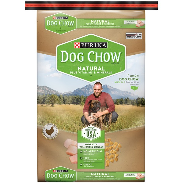 Dog Chow Natural Natural Plus Vitamins & Minerals Dog Food