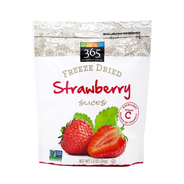 365 Freeze Dried Strawberry Slices