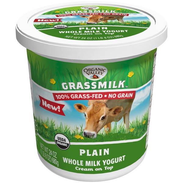 Organic Valley Plain Whole Milk Yogurt