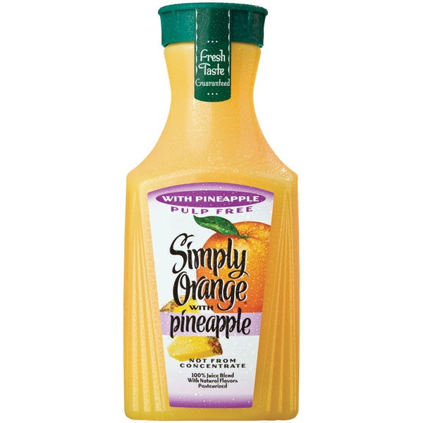 Simply Beverages Simply Orange with Pineapple Juice