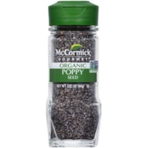 McCormick Gourmet Collection Organic Poppy Seed