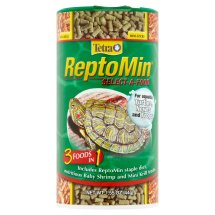 Tetra ReptoMin Select-A-Food 3 in 1 For Turtles, Newts and Frogs, 1.55 oz