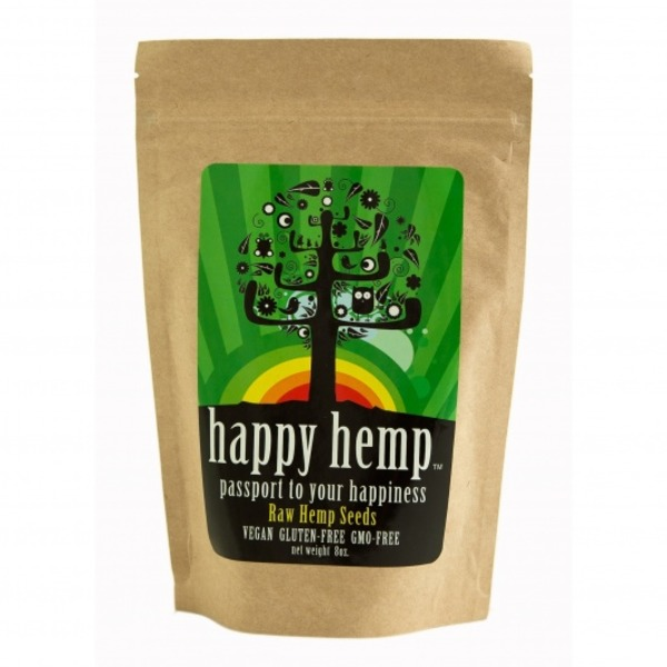 Happy Hemp Raw Hemp Seeds