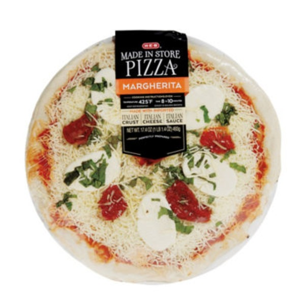 H-E-B Made In Store Margherita Pizza