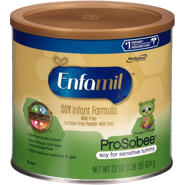 Enfamil Prosobee Soy Powder Infant Formula