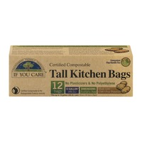 If You Care Certified Compostable Tall Kitchen Bags 13 Gallon - 12 CT