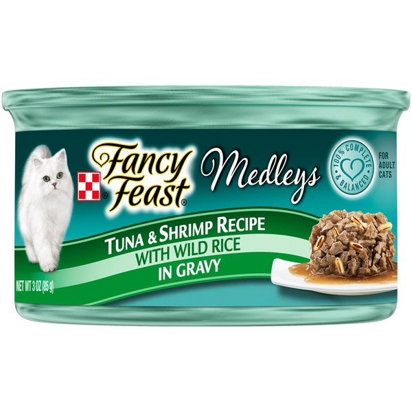 Fancy Feast Medleys Tuna & Shrimp Recipe Cat Food
