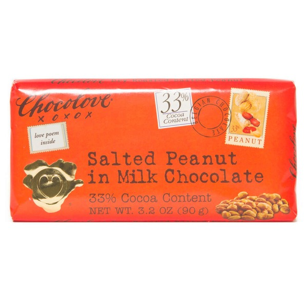 Chocolove Salted Peanut in Milk Chocolate