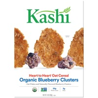 Kashi Heart to Heart Oat Organic Blueberry Clusters Cereal