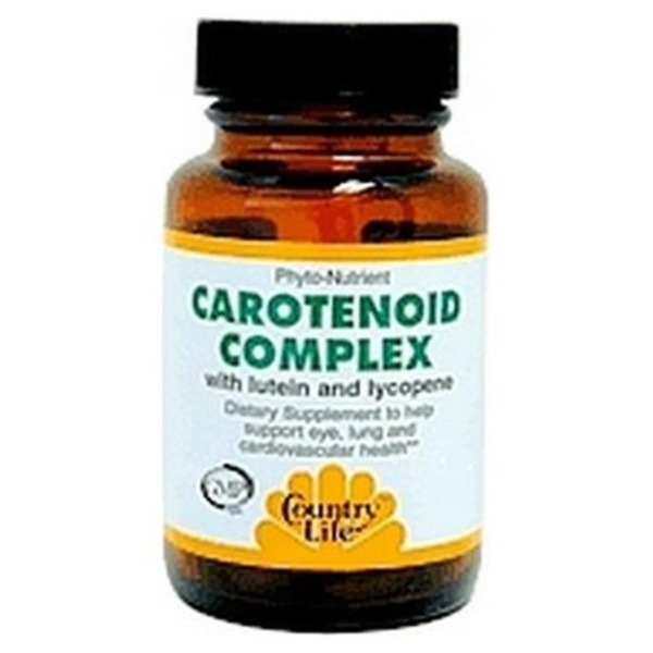 Country Life Phyto Nutrient Carotenoid Complex With Lutein And Lycopene