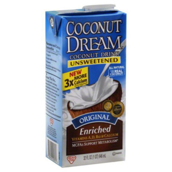 Coconut Dream Original Unsweetened Coconut Drink