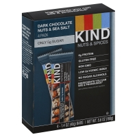 KIND Bar Nuts & Spices Dark Chocolate Nuts & Sea Salt - 4