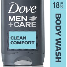 Dove Men+Care Clean Comfort Body and Face Wash 18 oz