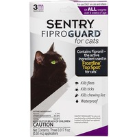 Sentry Pro 3 Way Control Fiproguard for Cats