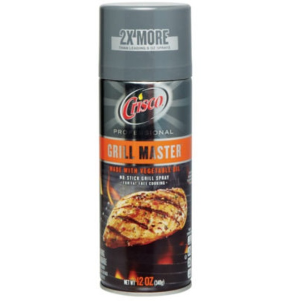 Crisco Grill Master No-Stick Grill Spray