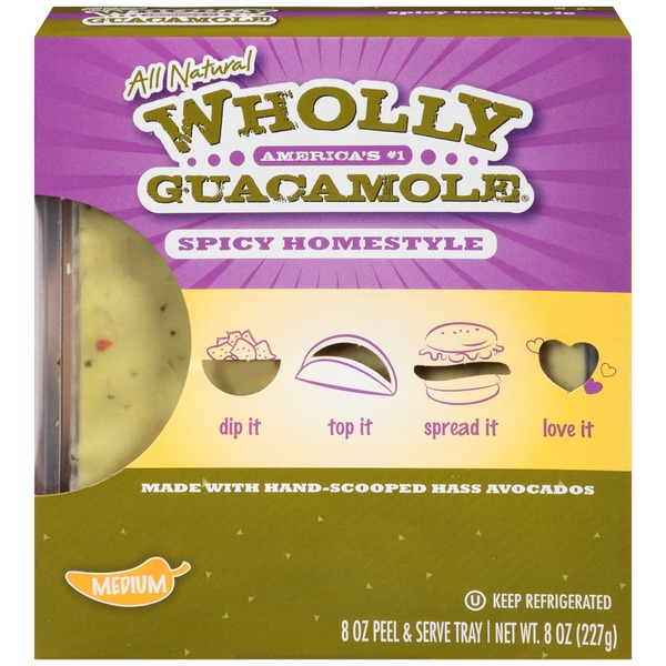 Wholly Guacamole Spicy Homestyle Guacamole