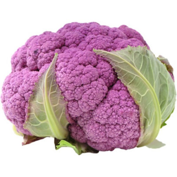Fresh Baby Purple Cauliflower