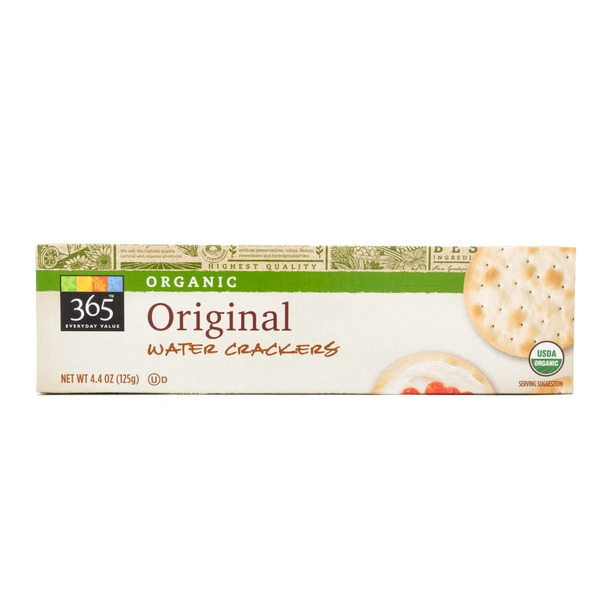 365 Organic Original Water Crackers