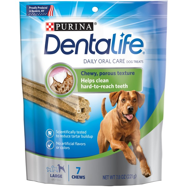 Dentalife Dog Daily Oral Care Large Dog Treats