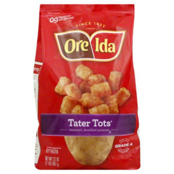 Ore Ida Seasoned Shredded Potatoes Tater Tots